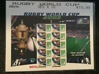 Australian Stamps: 2003 Rugby World Cup Stamp Sheetlet MInt MNH
