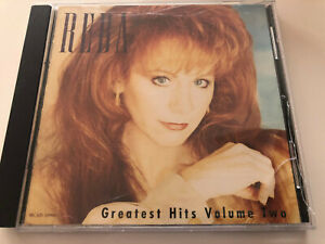 "US Country Music CD Reba McEntire ""Greatest Hits Volume 2 "" Top  Nashville 1993"