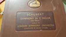 SCHUBERT SYMPHONY IN C MAJOR-THE GREAT- LONDON SYMPHONY ORCHESTRA BRUNO WALTER