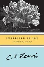 Surprised by Joy: The Shape of My Early Life a paperback Book by C S Lewis cs