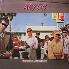 AC/DC DIRTY DEEDS DONE DIRT CHEAP 180g Columbia Records ACDC New Sealed Vinyl LP