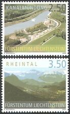 Liechtenstein 2006 (2004) Tourism/Views/Canal/Transport/Nature 2v set (n42669)