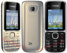 Оригинальный Nokia C2-01 Nokia 2730 3G разблокированный иврит английский клавиатура сотовый телефон