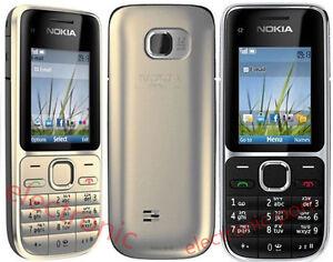 Original Nokia C2-01 Nokia 2730 3G Unlocked Hebrew English keyboard Cellphone
