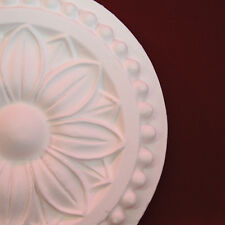 Plaster Ceiling Rose 150mm Genuine Period Design. Ceiling Light Center