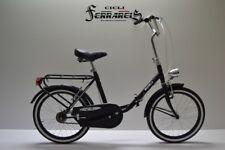 Bici bicicletta graziella pieghevole passeggio uomo donna  modello da 20  nera b