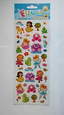 Sticker Sheet 1004 - Fairies & Princess  (2 sheets)