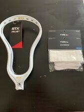 Stx Stallion 700 White Unstrung Lacrosse Head With Sk 4x Or 4s Mesh Kit