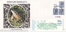 1986 50p FB33Aa Folded Booklet - Benham D44 - Windsor Handstamp