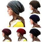 Men&Women Knit Baggy Beanie Oversize Winter Hat Ski Slouchy Chic Cap Skull Hot