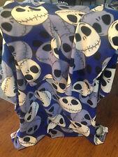 Jack Nightmare Before Christmas Movie Fleece Comfy Robe Like Blanket Disney