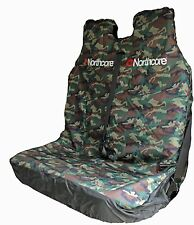 NORTHCORE WATERPROOF DOUBLE CAR / VAN SEAT COVER CAMO