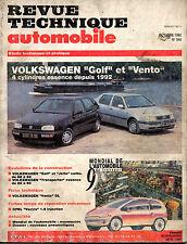 RTA revue technique automobile N° 544 VOLKSWAGEN GOLF VENTO 4 cyl ess