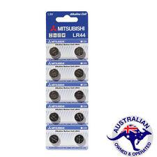 Mitsubishi LR44 A76 AG13 Alkaline batteries, pack of 10