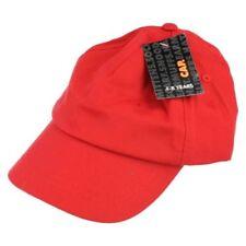 Accessori baseball rossi in poliestere per bambine dai 2 ai 16 anni