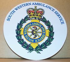 South Western Ambulance Service vinyl sticker.