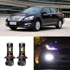 Canbus H11 3030 21SMD LED DRL Daytime Running Fog Lights Bulbs For Nissan Teana