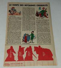 MAXI-RECIT Supplément SPIROU 1961 : Le Métier des Armes  - 8ème Tranche