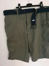 Marks and spencer Green  Shorts 38in With Belt
