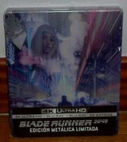 BLADE RUNNER 2049 STEELBOOK 4K ULTRA HD+BLU-RAY+BLU-RAY EXTRAS NUEVO (SIN ABRIR)