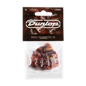 Dunlop Thumb Picks 9024P Shell TPK Extra Large - 4 Pick Player Pack