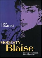 Modesty Blaise: Top Traitor (Modesty Blaise) by Jim Holdaway Paperback Book The