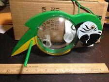 Green Parrot Hanging Bird Feeder # 78313 Plastic China