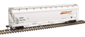 Atlas Master Line HO Scale BNSF ACF Pressureaide Covered Hopper 20-003-760