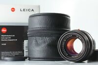 [Almost Unused Box] Leica Summicron-M 50mm f/2 E39 4th Built-in Lens Hood Japan
