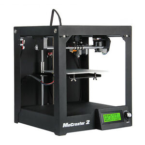 Geeetech Desktop 3D Drucker MeCreator 2 MK8+LCD2004 160x160x160mm