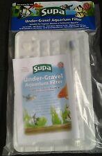 """Supa Under gravel Aquarium Filter  (29"""" x 11"""") 30"""" x 12""""  Fish Tank Undergravel"""