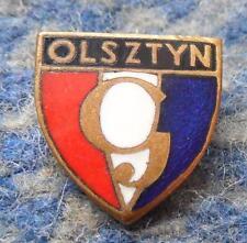 GWARDIA OLSZTYN FOOTBALL FUSSBALL SOCCER SHOOTING SPORTS JUDO 1960's BIG PIN