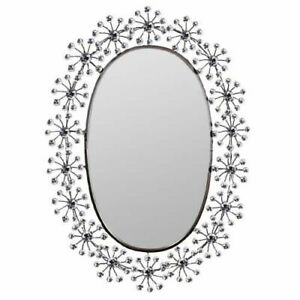 "34.5"" Decorative Wall Mirror Crystal - Wall Decor - Wall Mirror - Stone Mirror"