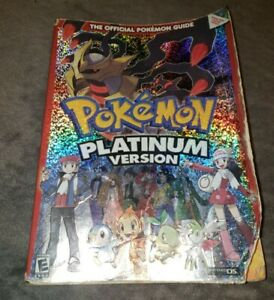 Pokemon Platinum Version Nintendo DS Strategy Guide Book Pre Owned
