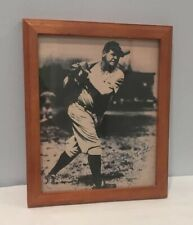 VTG New York Yankees 8x10 Photograph Babe Ruth Autograph Replica Framed