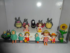 MY NEIGHBOUR TOTORO CAKE TOPPERS 15 PLASTIC FIGURES