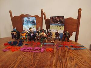 TMNT 1993 LOT OF 12 FIGURES W/ACCESSORIES!
