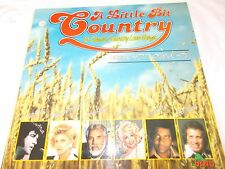 A LITTLE BIT COUNTRY - OZ V/A 16 TRK LP -ELVIS PRESLEY-OLIVIA NEWTON JOHN-EAGLES
