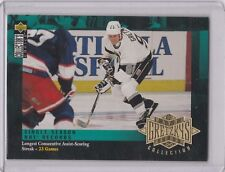 1995-96 Upper Deck -Wayne Gretzky's Record Collection #G6 Wayne Gretzky