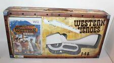 Nintendo Wii Western Heroes Game & Gun Brand New