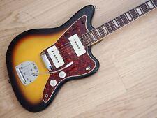 1966 Fender Jazzmaster Vintage Electric Guitar Sunburst 100% Original w/ Case
