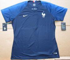 New Nike Women s France 18-19 Stadium Soccer Jersey (893952-451) Size cf780a1b6