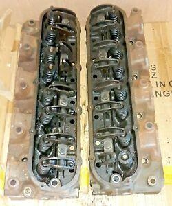 1970 CADILLAC 472ci CYLINDER HEADS