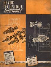 RTA revue technique automobile N°203 PEUGEOT 404