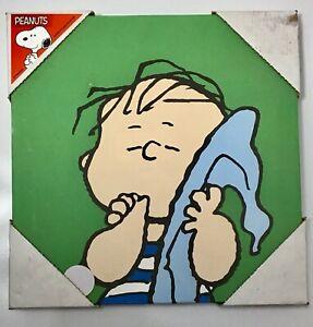 Peanuts Canvas Wall Art Print - Linus - 10x10