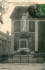 Carte NEUVIC Monument Commémoratif de la Grande Guerre 1914 1918