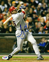 TROY GLAUS SIGNED AUTOGRAPHED 8x10 PHOTO ANAHEIM ANGELS PSA/DNA