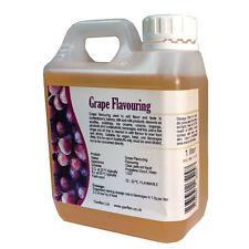 Aroma de uva 1L agregar sabor y gusto a su comida & Bebida