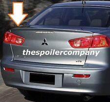 PRE-PAINTED FACTORY LOOK LIP MOUNT REAR SPOILER FOR 2008-2017 MITSUBISHI LANCER