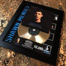 Shawn Mendes Handwritten Music Award Record Disc Album Award